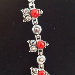 Owl theme bracelet NWOT